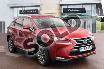 Lexus NX 300h 2.5 Luxury 5dr CVT in Mesa Red at Lexus Cheltenham