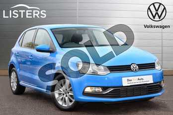 Volkswagen Polo 1.2 TSI SE 5dr in Mayan Blue at Listers Volkswagen Leamington Spa