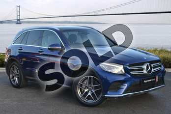 Mercedes-Benz GLC Diesel GLC 250d 4Matic AMG Line Premium 5dr 9G-Tronic in Brilliant Blue metallic at Mercedes-Benz of Grimsby