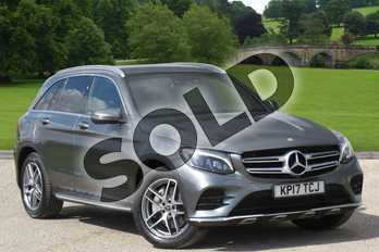 Mercedes-Benz GLC Diesel GLC 250d 4Matic AMG Line Premium 5dr 9G-Tronic in Selenite Grey Metallic at Mercedes-Benz of Grimsby