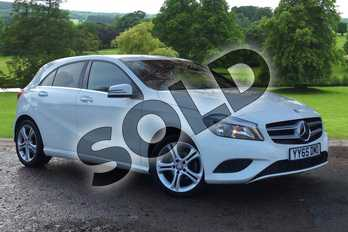 Mercedes-Benz A Class Special Editions A180 CDI Sport Edition 5dr in Cirrus White at Mercedes-Benz of Grimsby