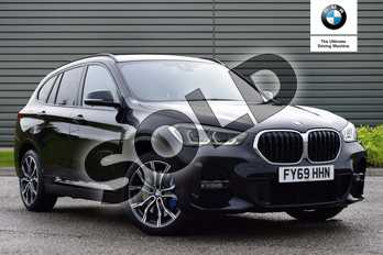 BMW X1 Diesel xDrive 20d M Sport 5dr Step Auto in Black Sapphire metallic paint at Listers Boston (BMW)