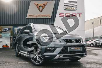 SEAT Ateca 1.5 TSI EVO FR Sport (EZ) 5dr DSG in Grey at Listers SEAT Coventry