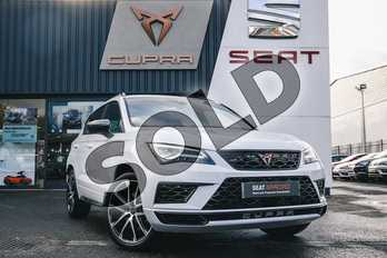 CUPRA Ateca 2.0 TSI 5dr DSG 4Drive (Comfort + Sound pack) in Nevada White at Listers SEAT Coventry