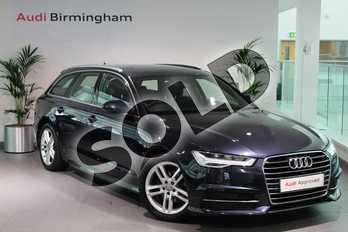 Audi A6 Diesel 2.0 TDI Ultra S Line 5dr S Tronic in Moonlight Blue Metallic at Birmingham Audi