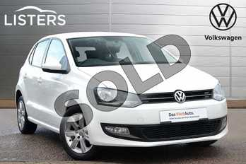 Volkswagen Polo 1.4 SE 5dr DSG in Pure White at Listers Volkswagen Loughborough