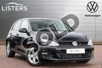 Volkswagen Golf Diesel 1.6 TDI 110 Match Edition 5dr in Deep Black at Listers Volkswagen Loughborough