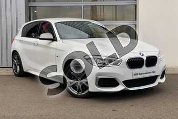 BMW 1 Series M140i 5dr (Nav) Step Auto in Alpine White at Listers Boston (BMW)