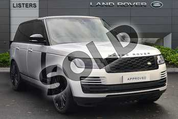 Range Rover Diesel 3.0 SDV6 Vogue 4dr Auto in Indus Silver at Listers Land Rover Droitwich