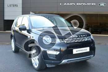 Land Rover Discovery Sport Diesel SW 2.2 SD4 HSE Luxury 5dr Auto in Santorini Black at Listers Land Rover Hereford