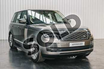 Range Rover 4.4 SDV8 Autobiography 4dr Auto in Silicon Silver at Listers Land Rover Solihull
