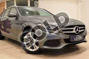 Mercedes-Benz C Class C200 SE Executive Edition 5dr 9G-Tronic in Metallic - Selenite Grey at Listers U Northampton