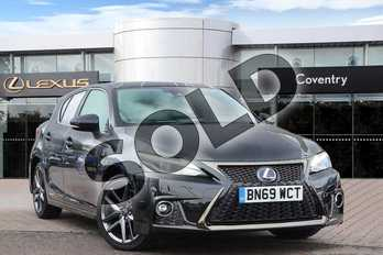 Lexus CT 200h 1.8 F-Sport 5dr CVT in Graphite Black at Lexus Coventry