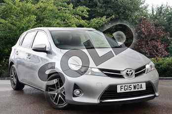 Toyota Auris 1.6 V-Matic Icon+ 5dr Multidrive S in Grey at Listers Toyota Nuneaton