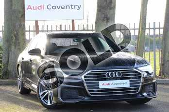 Audi A6 Diesel 40 TDI S Line 4dr S Tronic in Myth Black Metallic at Coventry Audi