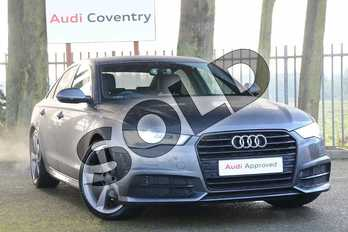 Audi A6 Special Editions 2.0 TDI Ultra Black Edition 4dr S Tronic in Daytona Grey Pearlescent at Coventry Audi