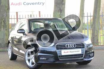 Audi A1 1.0 TFSI Sport 3dr in Myth Black Metallic at Coventry Audi