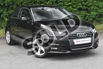 Audi A1 1.4 TFSI Sport 3dr in Brilliant Black at Worcester Audi