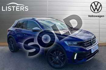 Volkswagen T-Roc 2.0 TSI R 4MOTION 5dr DSG in Lapiz Blue at Listers Volkswagen Leamington Spa