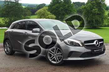 Mercedes-Benz A Class Diesel A200d Sport Edition 5dr Auto in Mountain Grey at Mercedes-Benz of Grimsby