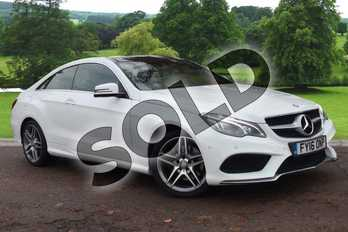 Mercedes-Benz E Class Diesel E220 BlueTEC AMG Line Premium 2dr 7G-Tronic in Polar white at Mercedes-Benz of Grimsby