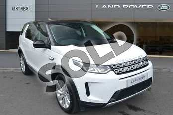 Land Rover Discovery Sport Diesel SW 2.0 D150 S 5dr Auto in Fuji White at Listers Land Rover Hereford