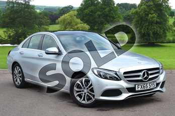 Mercedes-Benz C Class C200 Sport Premium 4dr Auto in Iridium Silver Metallic at Mercedes-Benz of Hull