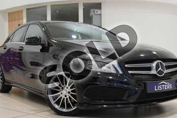 Mercedes-Benz A Class Diesel A220 CDI BlueEFFICIENCY AMG Sport 5dr Auto in Metallic - Cosmos Black at Listers U Northampton