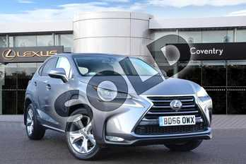 Lexus NX 300h 2.5 Premier 5dr CVT in Mercury at Lexus Coventry