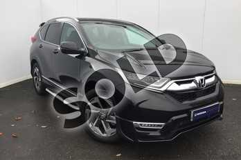 Honda CR-V 1.5 VTEC Turbo EX 5dr CVT in Crystal Black at Listers Honda Solihull