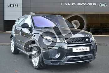Range Rover Evoque Diesel 2.0 TD4 HSE Dynamic Lux 5dr Auto in Santorini Black at Listers Land Rover Hereford