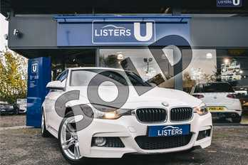 BMW 3 Series 320d M Sport 4dr Step Auto (Business Media) in Solid - Alpine white at Listers SEAT Coventry
