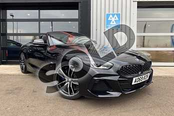 BMW Z4 sDrive 20i M Sport 2dr Auto in Black Sapphire metallic paint at Listers King's Lynn (BMW)
