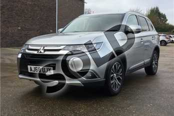 Mitsubishi Outlander Diesel 2.2 DI-D 3 5dr in Metallic - Cool Silver at Listers Toyota Boston