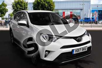 Toyota RAV4 Diesel 2.0 D-4D Business Edition TSS 5dr 2WD in Pure White at Listers Toyota Cheltenham