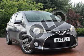 Toyota Yaris 1.33 VVT-i Icon 5dr in Grey at Listers Toyota Nuneaton