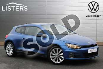 Volkswagen Scirocco Diesel 2.0 TDI BlueMotion Tech GT 3dr in Rising Blue at Listers Volkswagen Nuneaton
