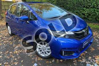 Honda Jazz 1.3 SE 5dr in Brilliant Sporty Blue at Listers Honda Coventry