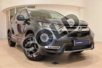 Honda CR-V 1.5 VTEC Turbo SR 5dr CVT in Cosmic Blue at Listers Honda Northampton
