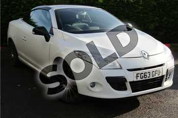 Renault Megane Diesel 1.5 dCi 110 Dynamique TomTom 2dr in Special Metallic - Arctic white at Listers U Boston