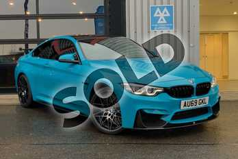 BMW M4 M4 2dr DCT (Competition Pack) in Miami Blue at Listers King's Lynn (BMW)
