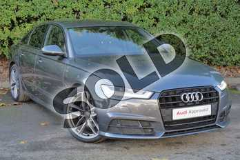 Audi A6 Special Editions 2.0 TDI Ultra Black Edition 4dr S Tronic in Daytona Grey Pearlescent at Worcester Audi