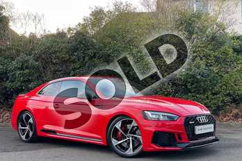 Audi RS5 RS 5 2.9 TFSI Quattro 2dr Tiptronic in Misano Red Pearlescent at Worcester Audi