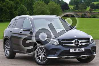 Mercedes-Benz GLC Diesel GLC 250d 4Matic AMG Line Prem Plus 5dr 9G-Tronic in Cavansite Blue Metallic at Mercedes-Benz of Hull