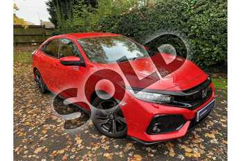 Honda Civic 1.5 VTEC Turbo Sport 5dr in Rallye Red at Listers Honda Coventry