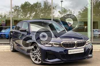 BMW 3 Series M340i xDrive 4dr Step Auto in Tanzanite Blue metallic at Listers King's Lynn (BMW)