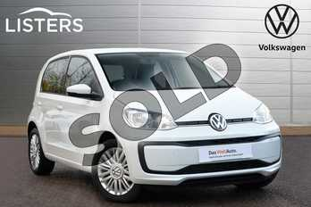 Volkswagen Up 1.0 Move Up 5dr in Pure white at Listers Volkswagen Leamington Spa