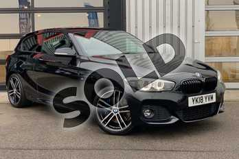 BMW 1 Series Special Edition 125i (224) M Sport Shadow Ed 3dr Step Auto in Black Sapphire metallic paint at Listers King's Lynn (BMW)