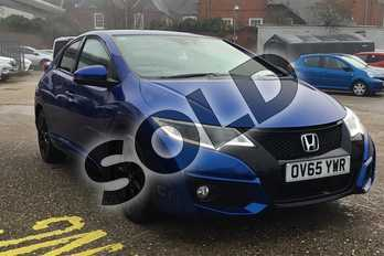 Honda Civic Diesel 1.6 i-DTEC Sport 5dr in Metallic - Brilliant sporty blue at Listers Toyota Boston