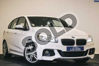 BMW 2 Series 220i M Sport 5dr Step Auto in Metallic - Mineral white at Listers U Stratford-upon-Avon